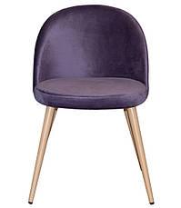 Стул обеденный деревянный мягкий Паркер  PRESTOL, фиолетовый, фото 3