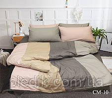 Двуспальное Евро постельное белье 200х220 Наволочки 4 шт. Color mix CM-10