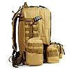 Рюкзак армейский, военный с подсумками B08 55 л (53х35х22 см), фото 2
