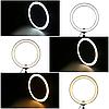 Кольцевая лампа 30см LED Ring Fill Light, фото 10