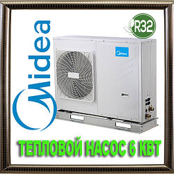 Тепловой насос моноблок Midea M-Thermal MHC-V7W/D2N85 6 кВт воздух-вода фреон R32