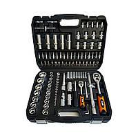 Набор инструментов, головок, ключей на 108 едениц Black (POLAND)