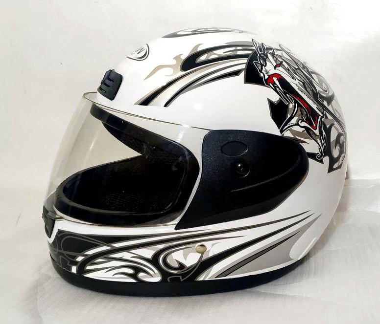 Шлем FXW HF-109 белый с черным