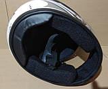 Шлем FXW HF-109 белый с черным, фото 10