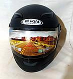 Шолом FXW HF-121 чорний мат, фото 3