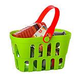 Детский игровой набор Супермаркет (магазин) 661-79 с прилавком, кассой, продуктами, корзиной и весами, фото 3