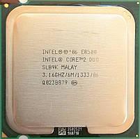 Процессор Intel Core 2 Duo E8500 E0 SLB9K 3.16 GHz 6 MB Cache 1333 MHz FSB Socket 775 Б/У
