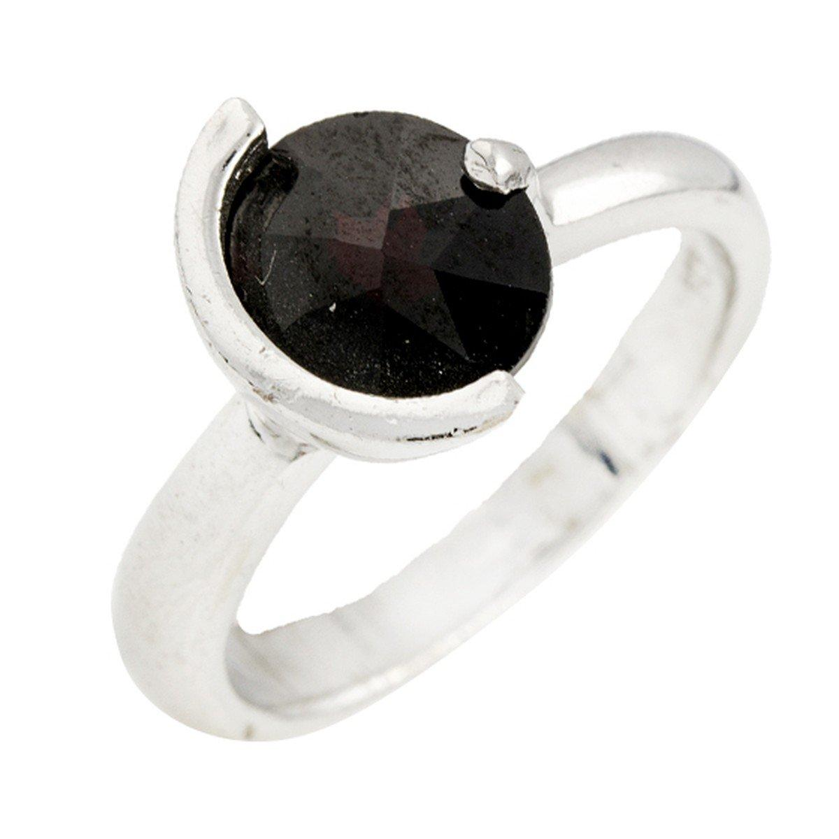 Серебряное кольцо DreamJewelry с натуральным гранатом (0077727) 17.5 размер