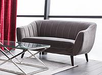 Прямой диван Signal Elite Velvet 2 Серый (ELITE2V14SZ)