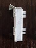 Внутренний уголок (полипропиленовый) для плинтуса Profilpas Metal Line 95/, фото 2