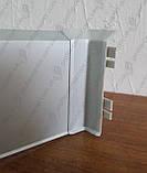 Внутренний уголок (полипропиленовый) для плинтуса Profilpas Metal Line 95/, фото 3