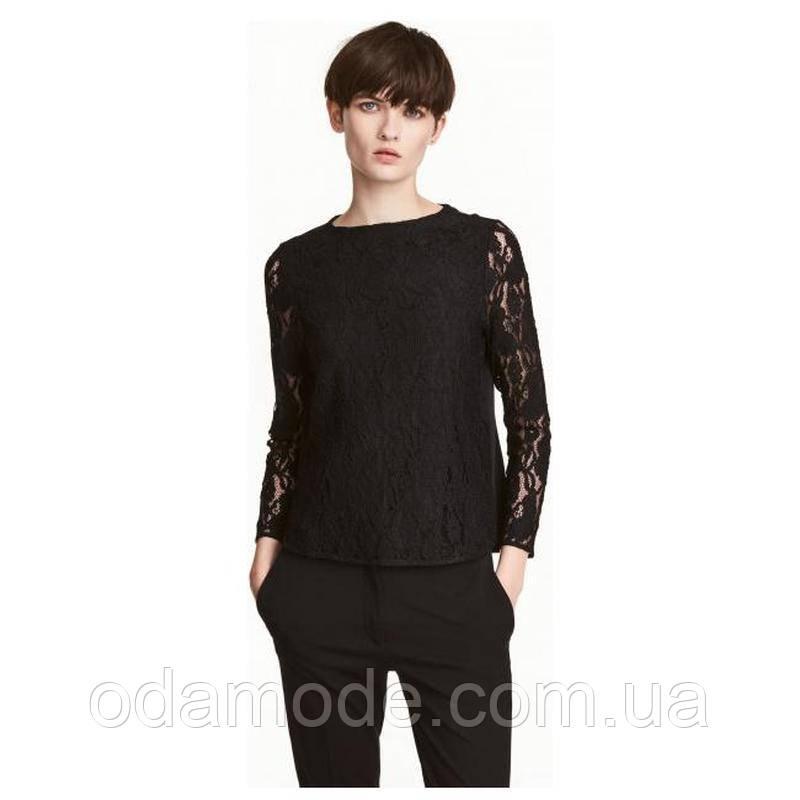 Блузка жіноча чорна h&m