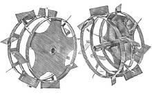 Колеса с грунтозацепами