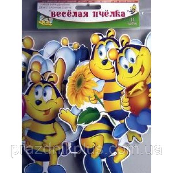 Набор оформительский на скотче Веселая пчелка