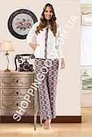 Женская пижама Shirly 5936, домашний костюм с капюшоном цена со склада