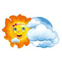 Декоративный элемент Солнышко с облаком