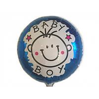 Шарик фольгированный Baby Boy (Китай)