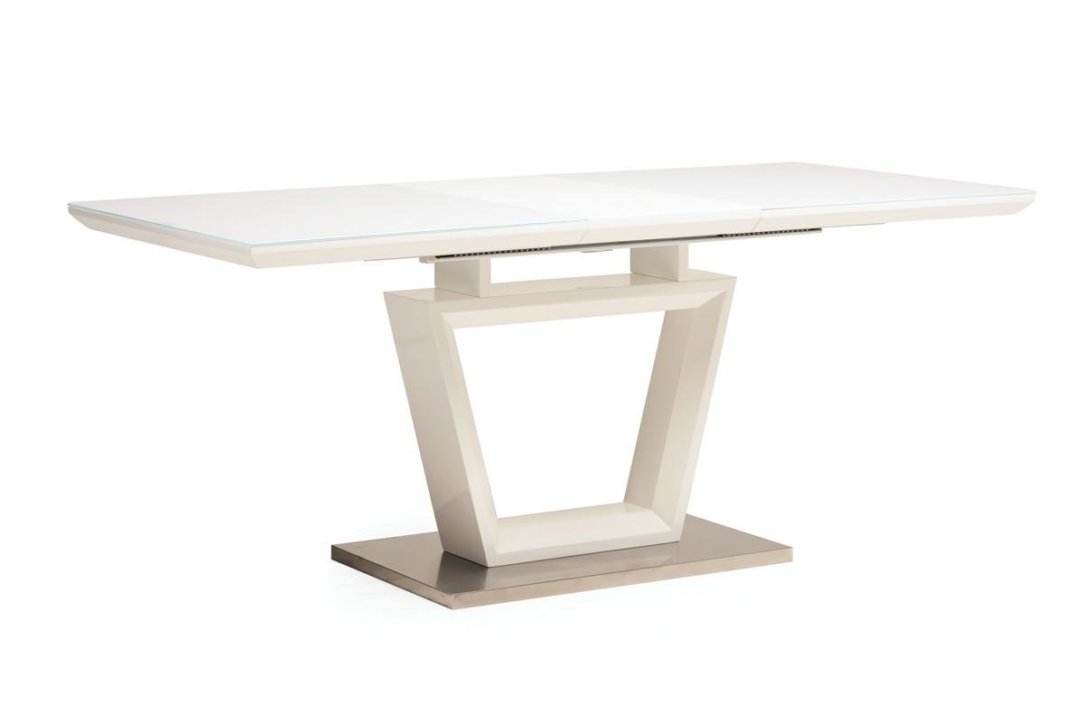 Стол раскладной TM-51-1 белый / white от ТМ VetroMebel
