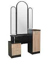 Туалетный стол Трюмо Николь МАКСИ-МЕбель Венге магия/Дуб сонома(7567)