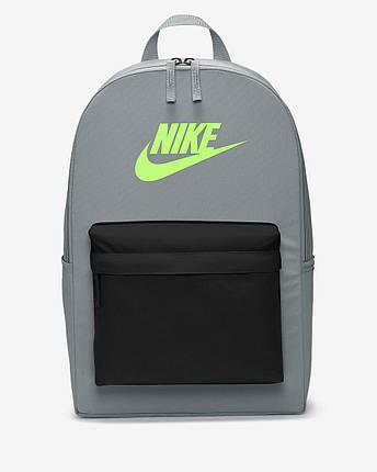 Рюкзак Nike Heritage Backpack 2.0 BA5879-084 Серый, фото 2