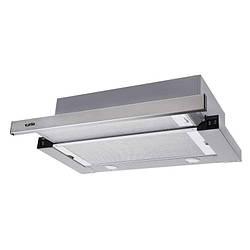 Витяжка Ventolux GARDA 60 INOX (750) SMD LED Телескопічна Нержавіюча сталь
