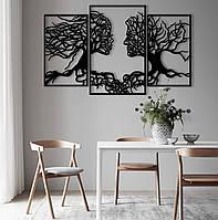 """Картина из дерева """"Любовь к природе """""""