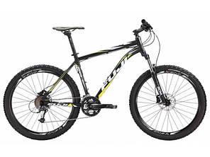 """Горный велосипед Fuji Nevada 1.3 чёрный/жёлтый 23"""" (GT)"""