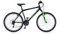 """Горный велосипед для кросс-кантри Author (2019) Trophy 26"""", рама 19"""", цвет-чёрный (зелёный) // зелёный (AR)"""