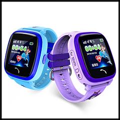 Детские водонепроницаемые смарт-часы  GPS AGPS LBS  Google DF25 Aqua NEW Smart Watch