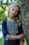 Детское платье прямого кроя из льна, фото 2