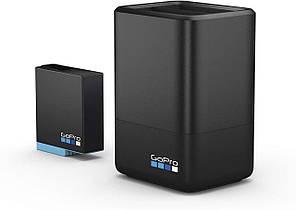 GoPro Dual зарядное устройство + аккумулятор для HERO8 Black / HERO7 Black / HERO6 Black