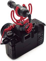 Микрофон Rode VideoMicro Compact с креплением Rycote Lyre Shock Mount