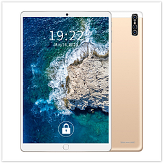 Планшет M102 Android 9.1 10,1 дюймовий екран , 4-х ядерний процесор золотий