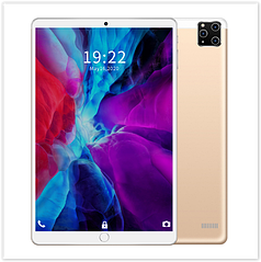 Планшет M101 Android 9.1 10,1 дюймовый экран , 4-х ядерный процессор золотой