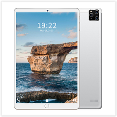 Планшет M101 Android 9.1 10,1 дюймовий екран , 4-х ядерний процесор срібло