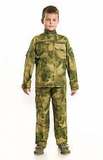 Костюм детский Киборг для мальчиков цвет камуфляж A-TACS копия взрослого костюма, фото 3