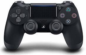 Безпровідний геймпад джойстик DualShock 4 PlayStation 4 (Jet Black)