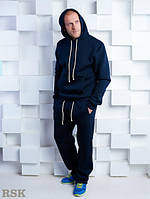 Мужской спортивный костюм RSK темно синий , спортивный костюм магазин