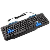 Игровая клавиатура проводная мультимедийная Jedel KB-518, черная