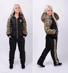 Женский лыжный костюм с лео опк2011
