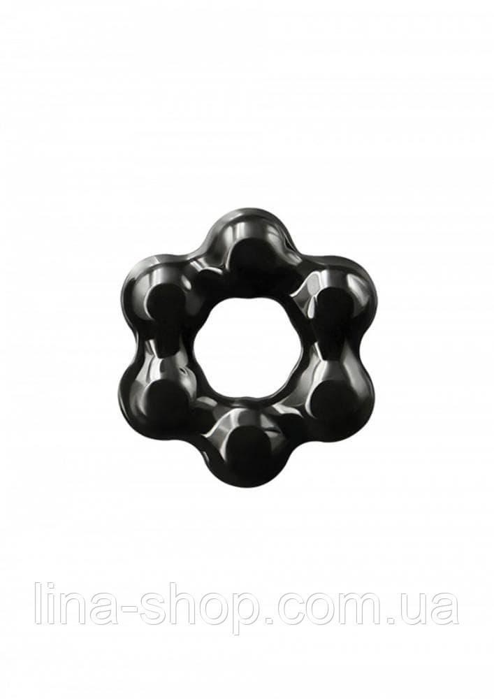 NS Novelties Renegade Spinner Ring - насадка на член (черный)