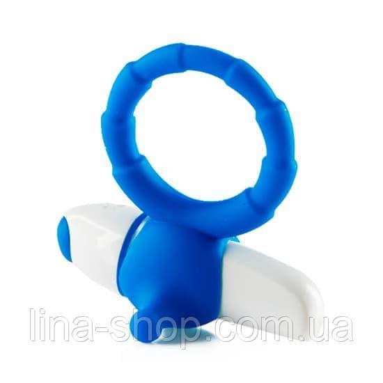 Виброкольцо My favourite (голубой)