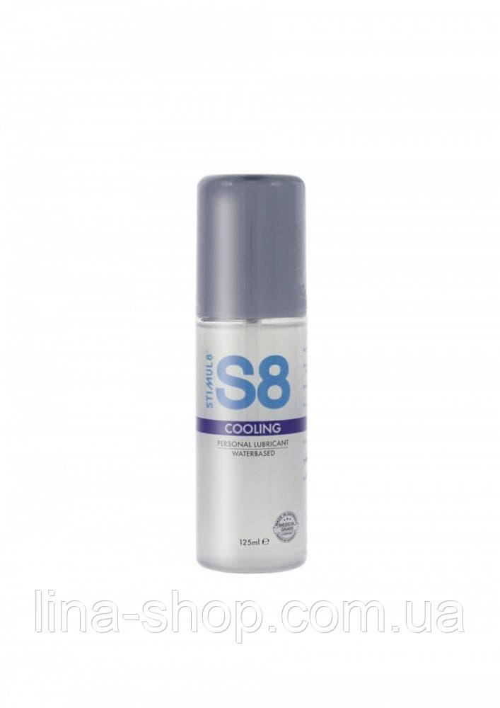 Stimul8 Cooling water based Lube лубрикант, 125 мл.