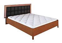 """Кровать двуспальная """"Белла"""" с мягким изголовьем 160x200 MiroMark"""