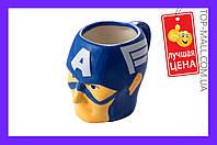 Чашка керамическая Elite - 400 мл Captain America|артикул-EL- KH-025-1