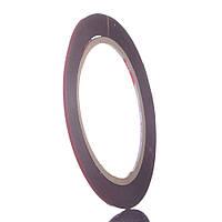 Двосторонній скотч спінений, ширина 2мм, довжина 2м, товщина 0.8 мм