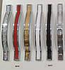 Ручка мебельная Ozkardesler 5233-06/013 ODESSA 160мм Хром-Белый, фото 2