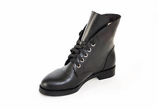 Ботинки LikeStar Амина-1\ размер 36-41\ натуральная кожа\ черный цвет. ( Женские ботинки ).