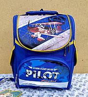 Каркасный школьный рюкзак на мальчика 1-4 класс, фото 1
