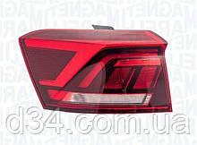 Фонарь задний внешн Volkswagen T-Roc 17-